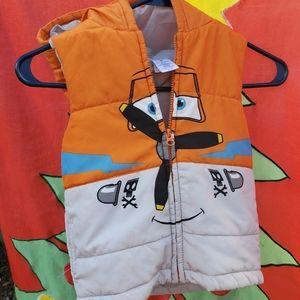 Disney Dusty Crophopper Boys Jacket Size 3T